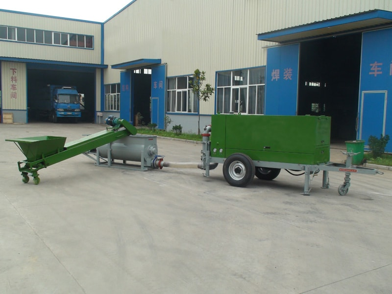 lightweight concrete plant machine