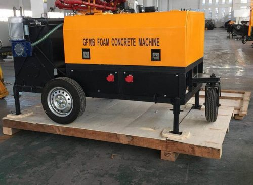 GF10B foam generator for foam concrete machine