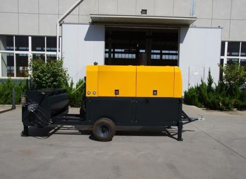 GF20D diesel foam cement machine