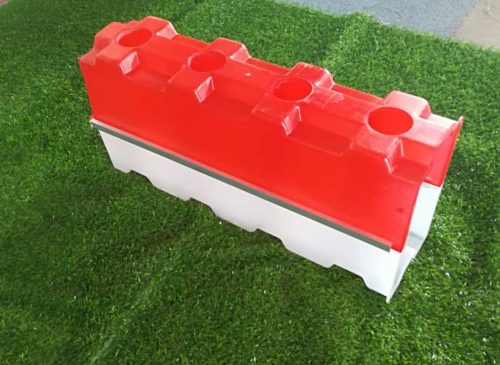 Concrete hollow block mold