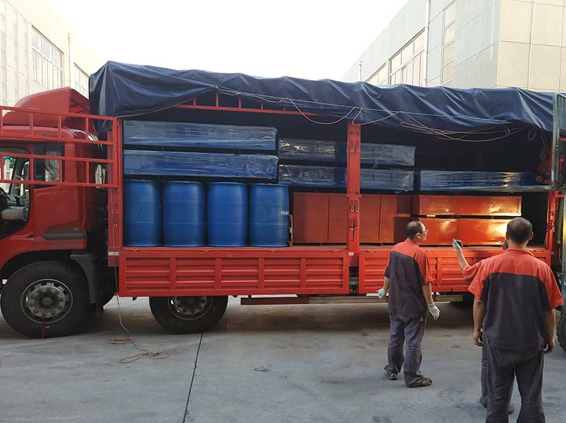 Delivery Of Cement Foaming Agent For Foam Concrete