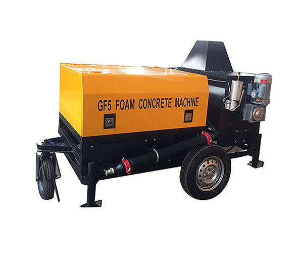 GF5 mini clc foam concrete block machine