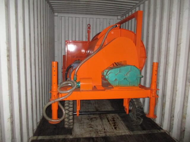 Foam concrete machine for external wall thermal insulation