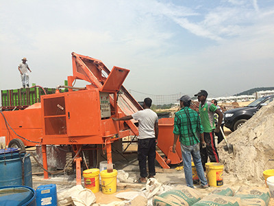 Concrete foaming machine made in China