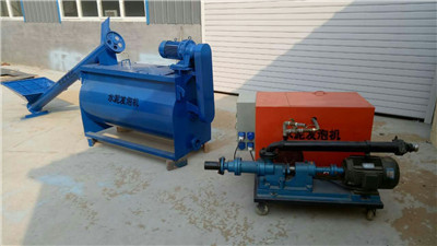 Lightweight foam concrete machine for sale
