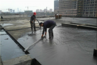 Foam concrete roof insulation